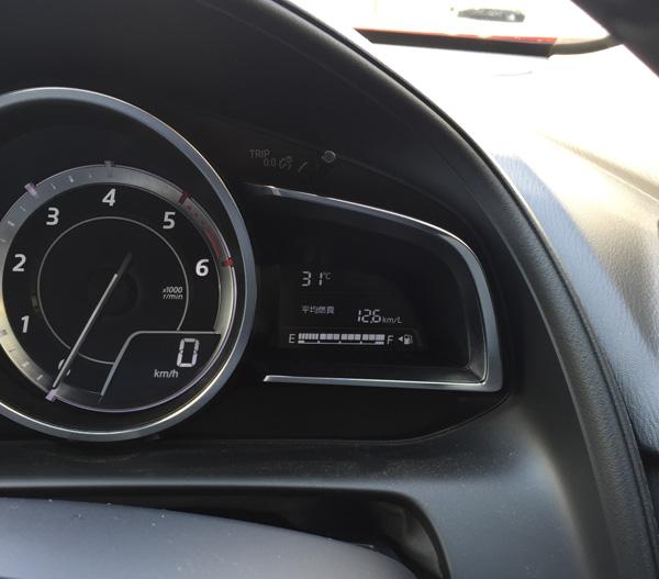 CX-3の一般道の燃費は12.6km