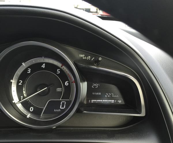 CX-3の高速の燃費は22.7km