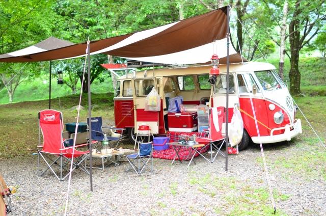 キャンプも出来る車中泊におすすめのサービスエリア